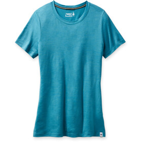 Smartwool Merino Sport 150 Shirt Women, light ocean abyss heather